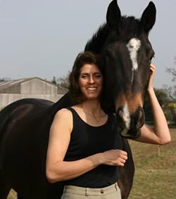 Barbara creates close bonds with horses.